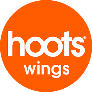 Hoots Wings Logo | Peachtree Corners Town Center